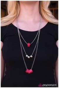 Only $5. Available at JennieMJewelry.com Fair and Square - Red