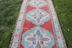 Origin : Middle Anatolia Size (cm) : Size (inch) Age (year) : 40 Material : Wool on cotton Kitchen Rug, Rug Runner, Bohemian Rug, Middle, Wool, The Originals, Unique Jewelry, Handmade Gifts, Cotton