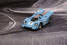 Aurora AFX Porsche 917k Gulf - Sebring 1970