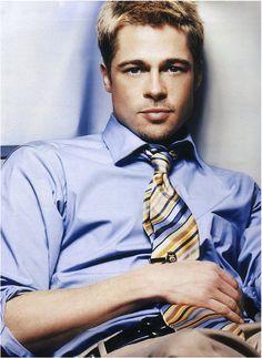 Brad Pitt. Master class.