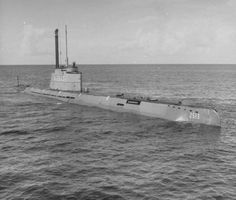 """U-boat Type XXI, aka """"Elektroboote"""", a submersible with 7 watertight compartments, increased battery capacity, tremendous underwater range. Much quieter than the Type VII. Had the Germans come up with this type submarine sooner, the outcome of the War might have been significantly different."""