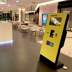 The Palácio do Gelo Shopping Center located in Viseu, now has available to the visitors of the mall, digital kiosks for the sale of tickets, a project realized through a PARTTEAM & OEMKIOSKS business partner. The 32'' GALLA self-service kiosk allows visitors to purchase tickets for music festivals, exhibitions, sports events, museums, etc.