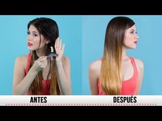 ᴴᴰ El Secreto para la Reparacion de las Puntas Secas - YouTube