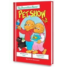 The Berenstain Bears Pet Show Personalized Book - Personalized Books - Books | Tv's Toy Box