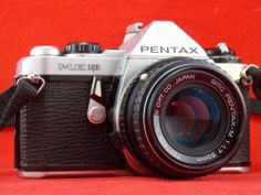 PENTAX ME Super SLR Camera Pentax-M 50mm f/1.7 Lens - JD C27 probably won't wait until my birthday to get this little beauty...
