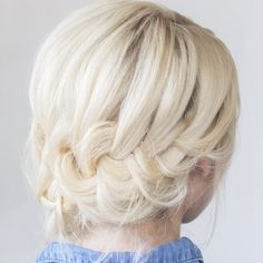 Hair & Makeup by Steph is showing us how to style this tucked braid updo - a hair-do perfect for brides and beauties alike. Learn how!