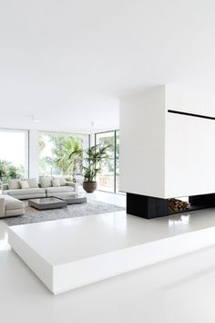 Minimal Interior Design with lots of natural light