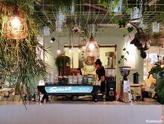 Coffeelab in Eindhoven, nieuw gezellig koffie tentje, gespot door Bubblemint.
