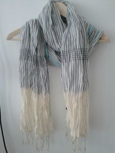 American Eagle Striped Scarf  $5