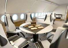 Airbus ACJ319 Elegance, the modular solution to create an executive jet made to measure -- Airbus ACJ319 Elegance: diseño modular para crear un jet ejecutivo a medida.
