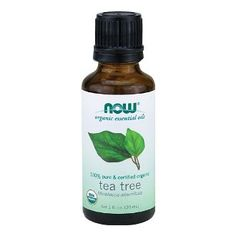 Add 5 drops of tea tree oil to 1/4 cup of plain yogurt and apply as a mask