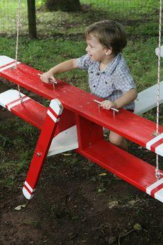 Custom Airplane Swing | eBay