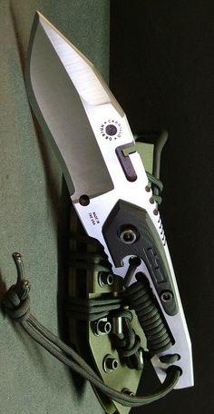 Dwaine Carrillo Custom Fixed Tactical Knife Blade @aegisgears