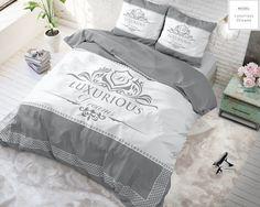 Sleeptime - Katoen - TaupeKleur: TaupeMaat: 140 x 220 - Luxurious Taupe 140 x 220 Katoen Geometric Bedding, Bed Sheets, Comforters, Blanket, Luxury, Shopping, Website, Textile, Twin Cribs