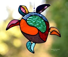Your place to buy and sell all things handmade Stained Glass Suncatchers, Stained Glass Projects, Stained Glass Patterns, Stained Glass Art, Stained Glass Windows, Mosaic Glass, Fused Glass, Christmas Pickle Ornament, Christmas Diy