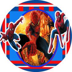 Homem Aranha – Kit Completo Digital grátis com molduras para convites, rótulos…