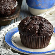 """Healthy"" chocolate muffins"