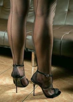 Nylons and heels will