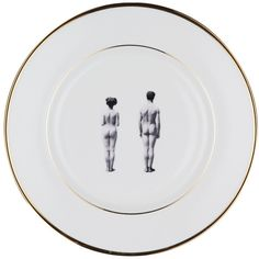 Models Dinner Plate ($129) ❤ liked on Polyvore featuring home, kitchen & dining, dinnerware, handmade dinnerware, bone china, dessert plates, bone china dessert plates and sandwich plate