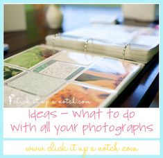 Photo Albums-What to do with all those Photos you took while doing a 365 photo challenge