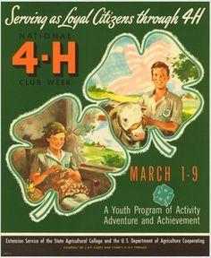 Serving as Loyal Citizens through 4-H (1952).