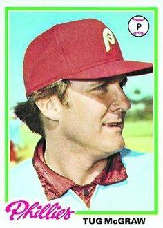 1978 Topps #446 Tug McGraw - Philadelphia Phillies (Baseball Cards) by Topps…