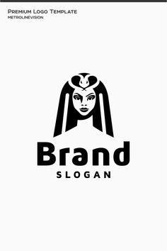 Cleopatra Logo Template, #Cleopatra #Logo #Template #Logo Cleopatra, Branding Design, Logo Design, Eye Symbol, Web Studio, Premium Logo, Social Media Logos, Logo Concept, Logo Templates