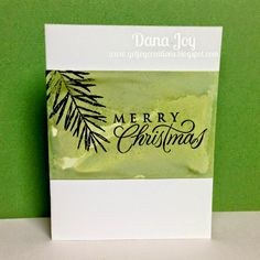 Got Joy Creations - by Dana Joy: Marbled Background Card