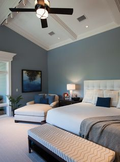 Benjamin Moore S Normandy Blue Dining Room Paint Baby