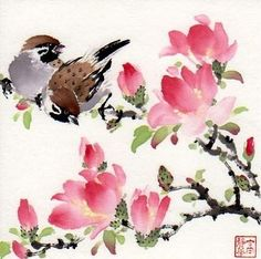 """You are so beautiful!"" - Original Fine Art for Sale - © Jinghua Gao Dalia"