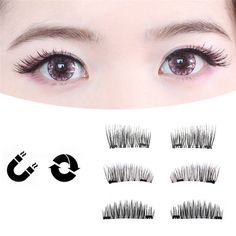 False Eyelashes 1 Pair Sell Peach Heart False Eyelashes Korea Natural Naked Makeup Long False Eyelash Handmake Eye Lashes Makeup Kit Gift #040