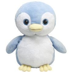 TY Pluffies PETEY the Blue Penguin (8.5 inch)