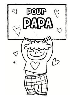 Home Decorating Style 2020 for Coloriage Pour Papa A Imprimer, you can see Coloriage Pour Papa A Imprimer and more pictures for Home Interior Designing 2020 17513 at SuperColoriage. Happy Birthday Papa, Cadeau Parents, Page Borders, Free Printable Coloring Pages, Home Pictures, Mother And Father, Happy Fathers Day, Sunday School, School