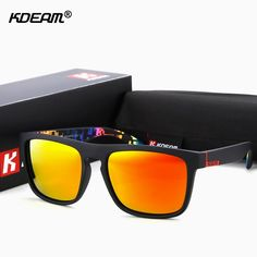 ColorDazzles Sport Sunglasses Polarized Sun Glasses Men Streamlined Sunglass Soft Paint Shades For Women KDEAM CE