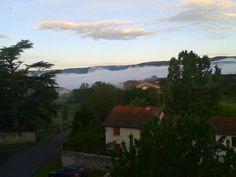 Mer de nuages sur Chilhac...! ! !