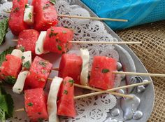 Watermelon Mozzarella salad is very easy to make, flavorful and crowd pleasing.  It is perfect for your BBQ parties or any other summer gatherings. The original recipe uses cantaloupe but I really did not enjoy the flavors. But when I tried it with cold watermelon, I fell in love with it. The magic is all in the zesty salad dressing! It helps to bring out the flavors of watermelon and marinates Mozzarella as well.  And believe me it is very refreshing, light and delicious. Now we prefer to…