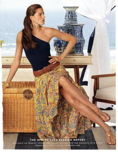 Ralph Lauren Paisley Skirt Spring 2012. One of my favorites!