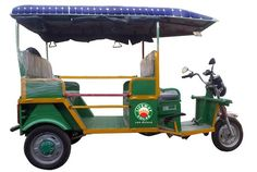 Solar rickshaws to be sold in Kerala, starting November 8, 2016 - MotorScribes