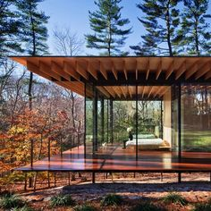 inspiration Glass/Wood House by Kengo Kuma and Associates Location: New Canaan, Connecticut,. Glass/Wood House by Kengo Kuma and Associates Location: New Canaan, Connecticut, US Just Perfect ! Architecture Design, Residential Architecture, Amazing Architecture, Contemporary Architecture, Sustainable Architecture, Residential Land, Contemporary Houses, Ancient Architecture, Landscape Architecture