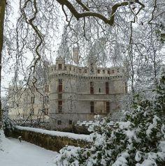 Noël au château, château d'Azay-le-Rideau