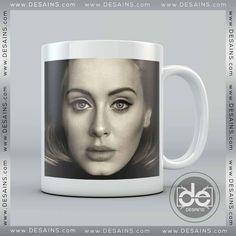 Coffee Mug Adele Hello Poster – Personalised Mugs – Ceramic Mugs