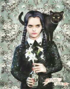 Wednesday Addams Art Edit ✝