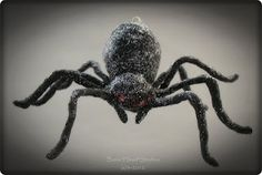 "Halloween "" Creepy Crawlies ""  spun cotton - spider"
