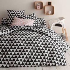 parure triangles noir