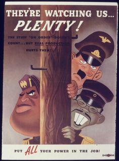 World War 2 Poster ( American) #propaganda #worldwar2