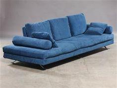 Vara: 4352912 Bosal Veliero sofa, polstret med blå velour