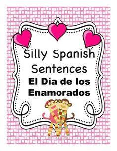 Spanish Valentine's Day / Día de San Valentín, Día de los Enamorados, or Día del Amor y la Amistad activities