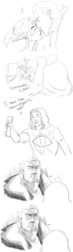 Pretty much exactly what happened. (Cullen/Inquisitor)