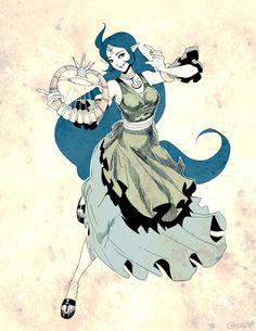 Zelda - Nayru Sketch by GENZOMAN.deviantart.com on @DeviantArt