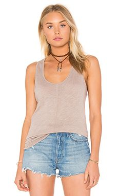 Project Social T Textured Tank available online at Revolve